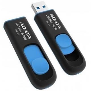 USB flash disk Adata UV128 64GB modrý