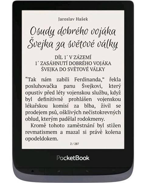 Pocket Book Čítačka kníh Pocket Book 632 Touch HD 3 - Metallic Grey
