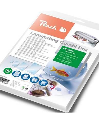 Laminovacie fólie Peach Combi Box 25 ks