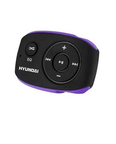 MP3 prehrávač Hyundai MP 312 GB8 BP čierny/fialov