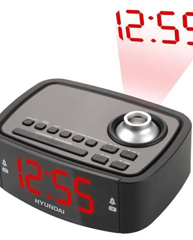 Rádiobudík Hyundai RAC 201 PLL BR čierny