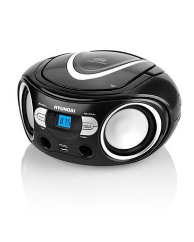 Rádioprijímač s CD Hyundai TRC 533 Au3bs čierny/strieborn