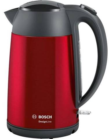 Rýchlovarná kanvica Bosch DesignLine Twk3p424 čierna/červen