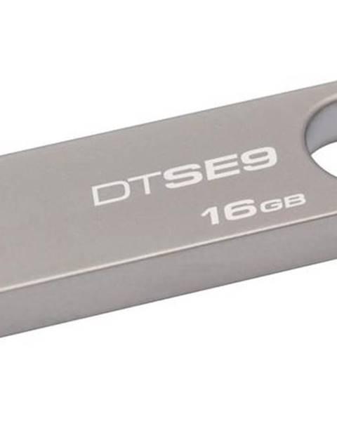Kingston USB flash disk Kingston DataTraveler SE9 16GB kovový
