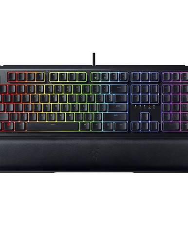 Klávesnica Razer Ornata V2, RGB, US čierna