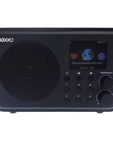 Internetový rádioprijímač Maxxo DT02 čierny