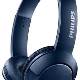 Slúchadlá Philips Shb3075bl modrá