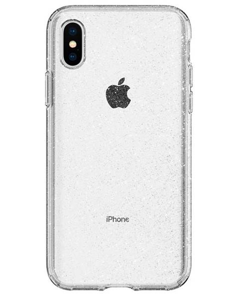 Spigen Kryt na mobil Spigen Liquid Crystal Glitter na Apple iPhone Xs/X
