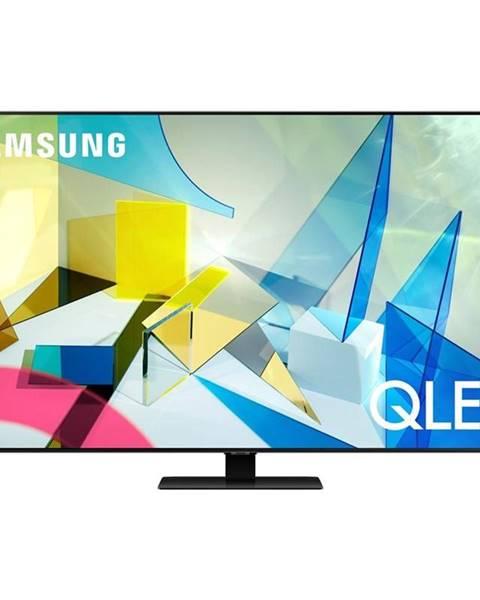 Samsung Televízor Samsung Qe85q80ta strieborn