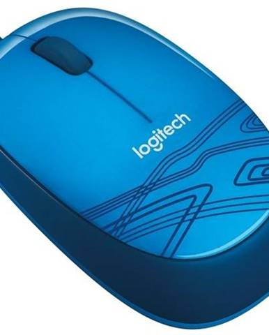 Myš  Logitech M105 modrá / optická / 3 tlačítka / 1000dpi