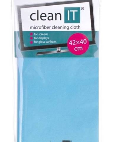 Utierka Clean IT z mikrovlákna, velká světle modrá