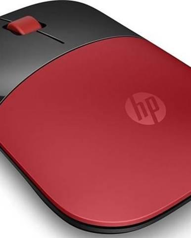 Myš  HP Z3700 červená