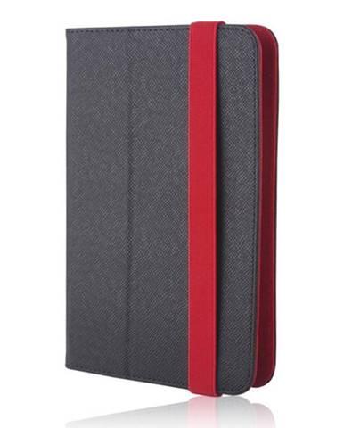 """Púzdro na tablet flipové GreenGo Orbi na tablet 7-8"""" čierne/červené"""