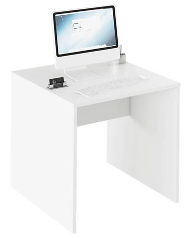 Písací stôl biela RIOMA TYP 17
