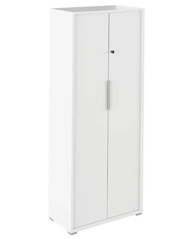 Skriňa so zámkom biela RIOMA TYP 31