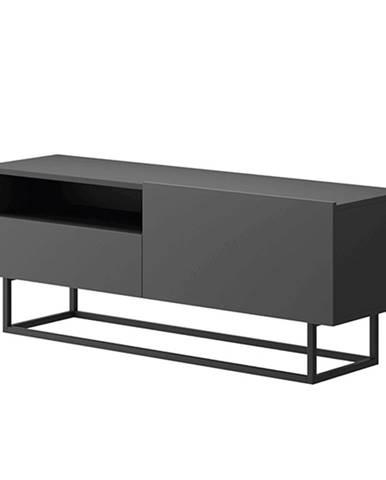 RTV stolík bez podstavy grafit SPRING ERTVSZ120