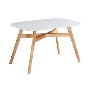 Jedálenský stôl CYRUS NEW poškodený tovar-odlepujúce sa spoje