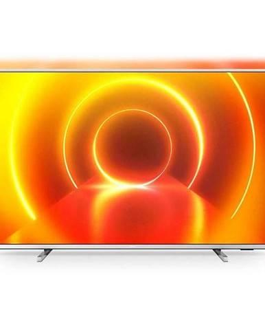 Televízor Philips 43PUS7855 strieborn