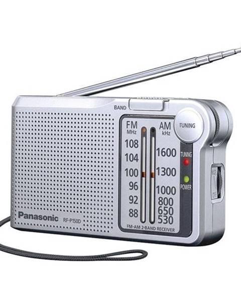 Panasonic Rádioprijímač Panasonic RF-P150deg-S strieborn