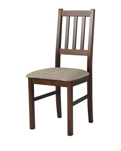 Jedálenská stolička BOLS svetlohnedá