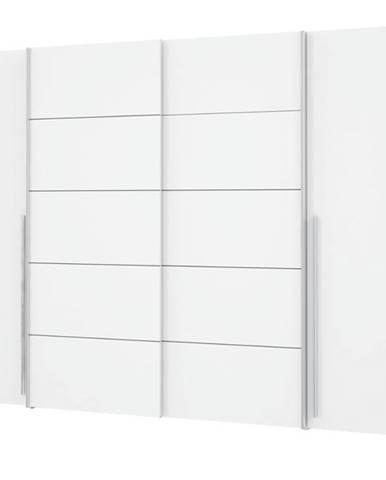 Šatníková skriňa ARAGON biela