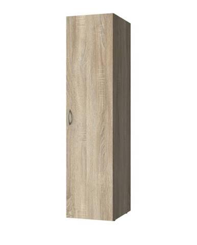 Viacúčelová skriňa MULTIRAUMKONZEPT 640, dub sägerau, 45 cm