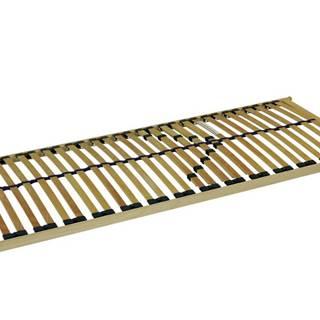 Pevný lamelový rošt DOUBLE T5 80x200 cm