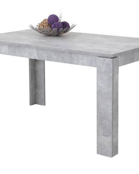 Sconto Jedálenský stôl ALEXA sivá