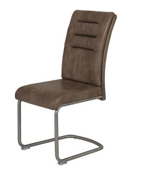 Sconto Jedálenská stolička PAULA hnedá