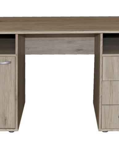 Písací stôl KUBA dub sanremo