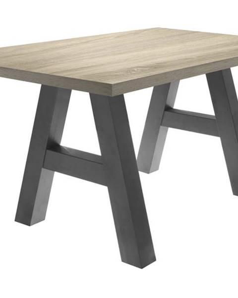 Sconto Jedálenský stôl BIG SYSTEM dub sägerau/grafit