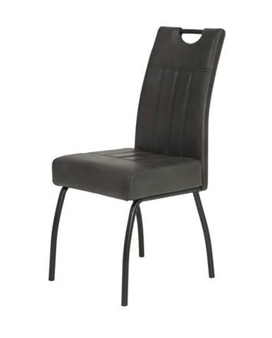 Jedálenská stolička BEATE S antracitová