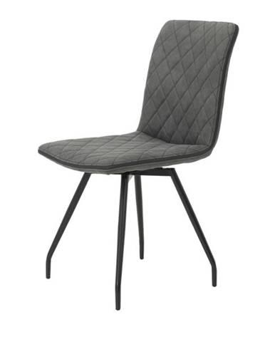 Jedálenská stolička TATJANA I S antracitová